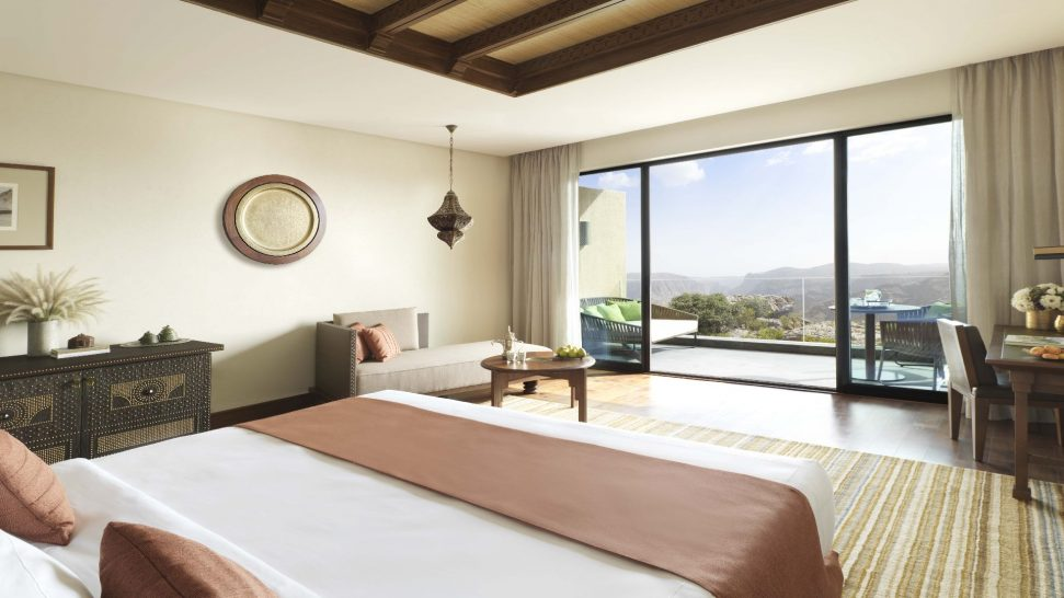 Anantara Al Jabal Al Akhdar Resort Deluxe Canyon View Room