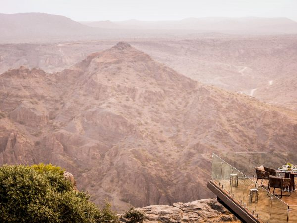 Anantara Al Jabal Al Akhdar Resort Dining By Design Diana's Point