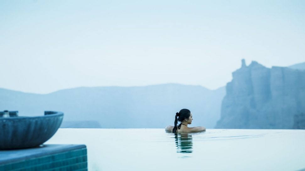 Anantara Al Jabal Al Akhdar Resort Infinity Pool