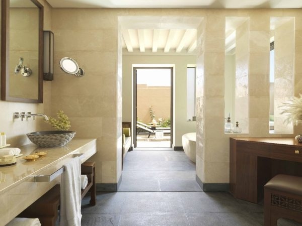 Anantara Al Jabal Al Akhdar Resort One Bedroom Garden Pool Villa Bathroom