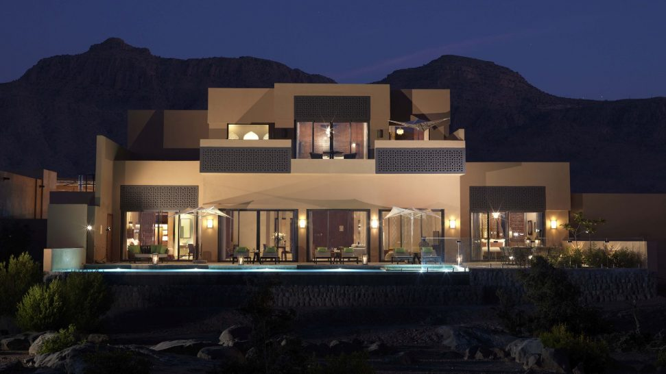 Anantara Al Jabal Al Akhdar Resort Royal Mountain Villa Exterior