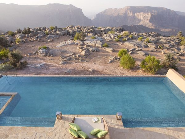 Anantara Al Jabal Al Akhdar Resort Royal Mountain Villa Pool 02