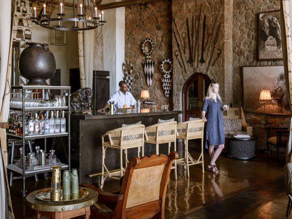 Singita Ebony Lodge Bar