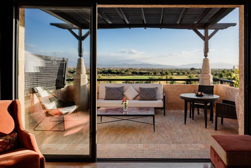 Fairmont Royal Palm Marrakech Junior Suite Terrace