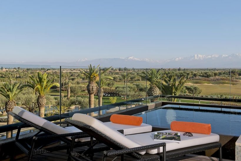 Fairmont Royal Palm Marrakech Penthouse Suite Pool