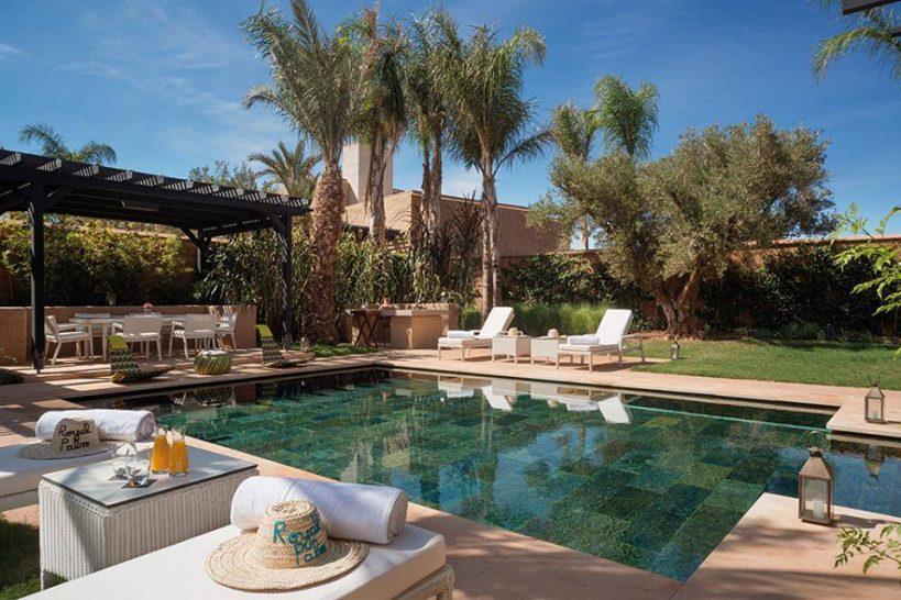 Fairmont Royal Palm Marrakech Prince Villa Pool