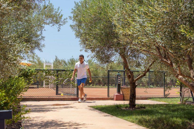 Fairmont Royal Palm Marrakech Tennis Court