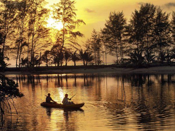 Kayak Soneva Kiri Resort Thailand by Jerome Kelakopian