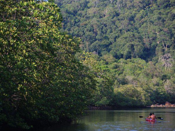 Kayaking by Herbert Ypma