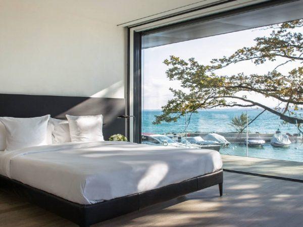 La Reserve Geneve villa Bed room