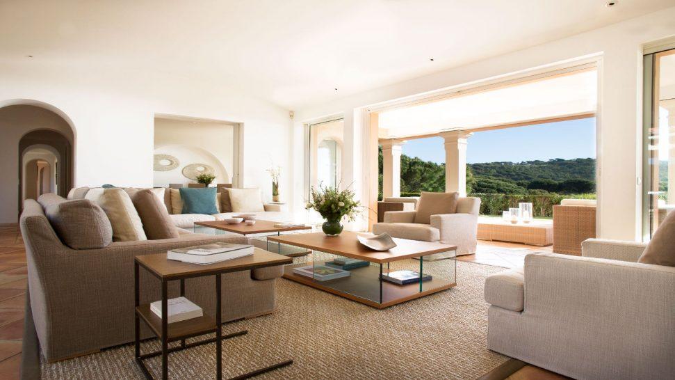 La Reserve Ramatuelle Villa Lounge