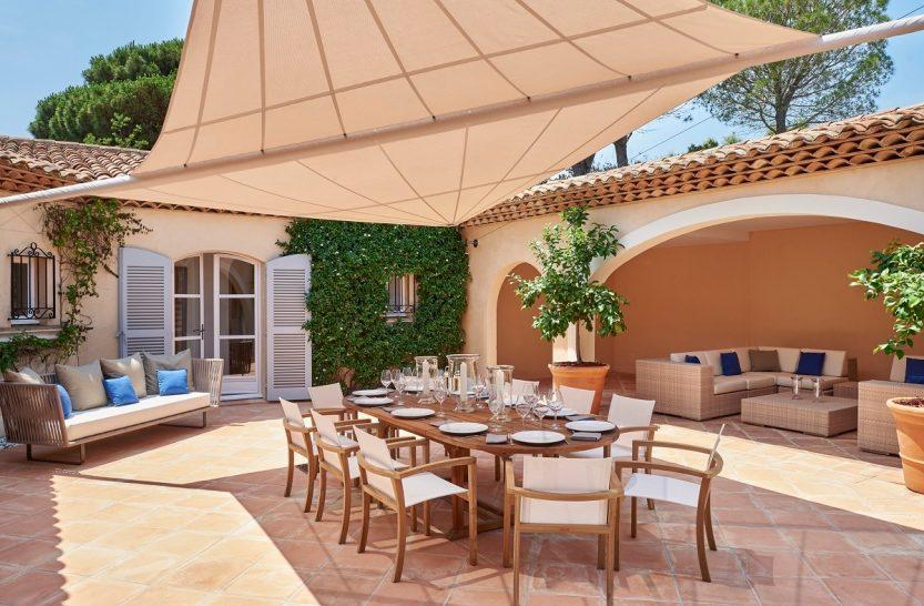 La Reserve Ramatuelle Villa dining