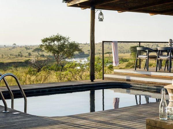 Singita Mara Tented Camp pool
