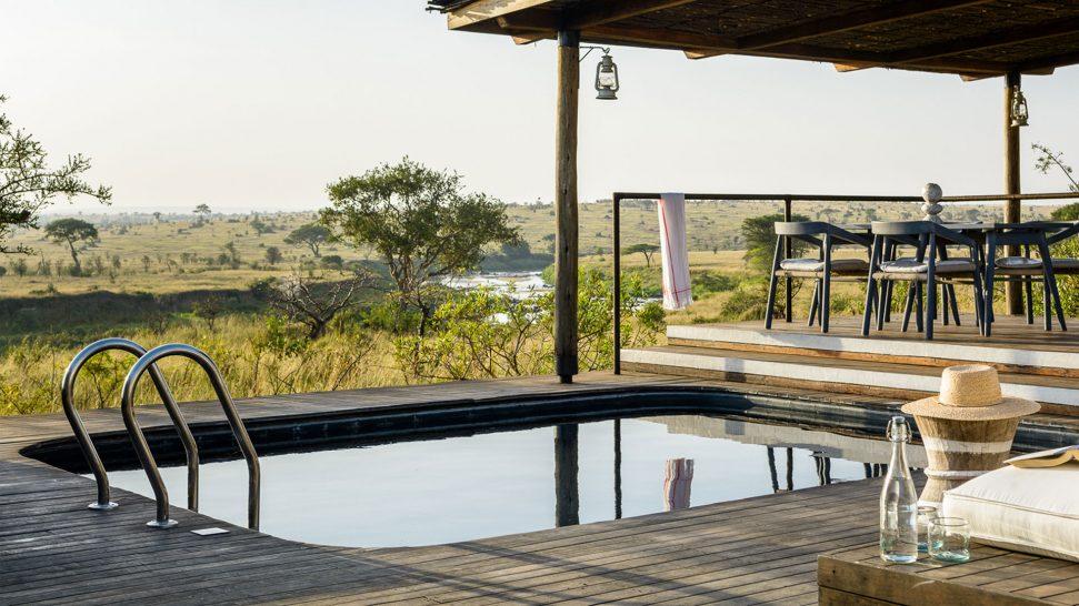 Mara River Tented Camp pool