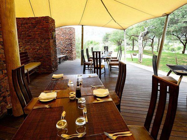 Marataba Safari Lodge Breakfast Area