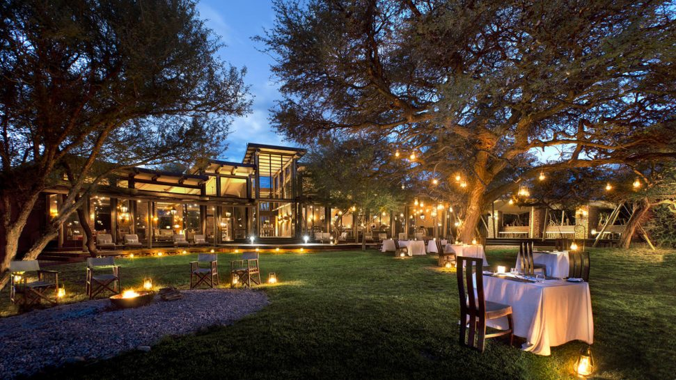 Marataba Safari Lodge Dining Under The Trees