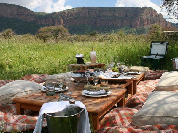 Marataba Safari Lodge Outside Dining