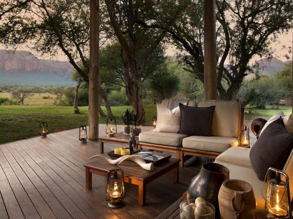 Marataba Safari Lodge Quiet Deck