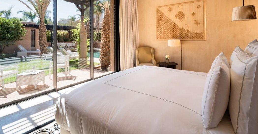 Prince Villa Bedroom at Fairmont Royal Palm Marrakech