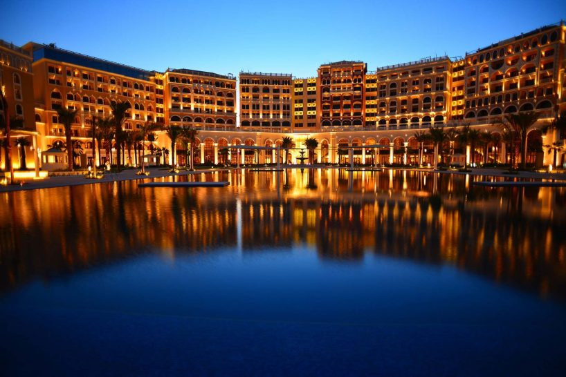 Ritz Carlton Abu Dhabi night view