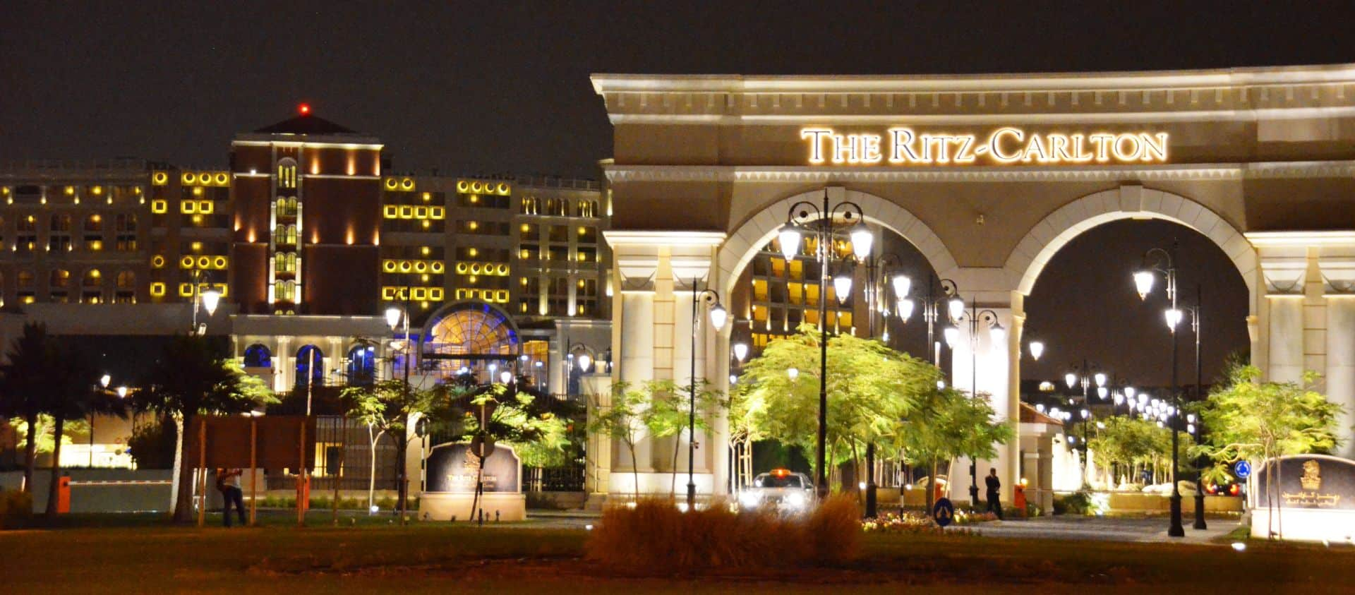Ritz Carlton abu dhabi entrance