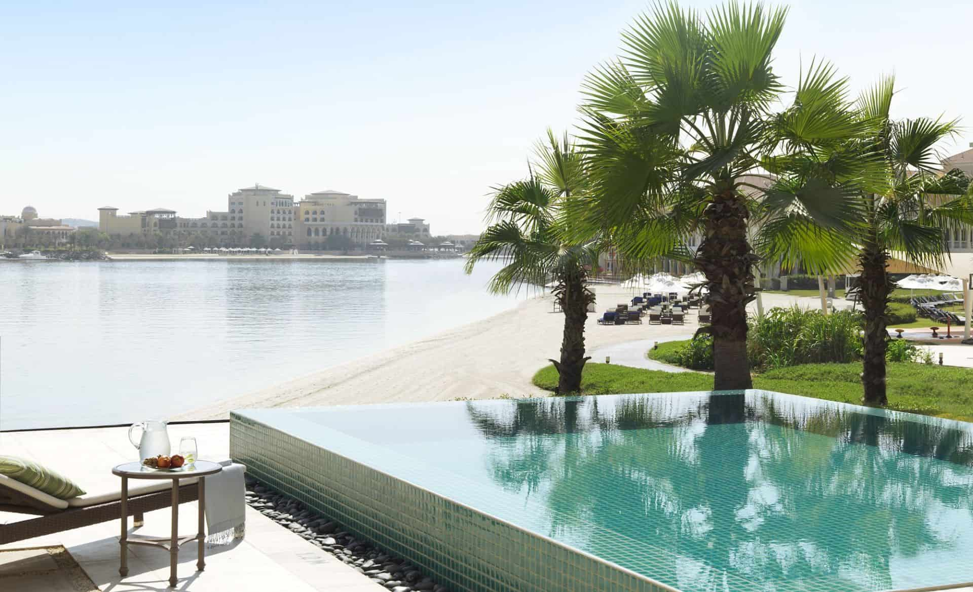 Ritz Carlton Abu Dhabi Villa Pool