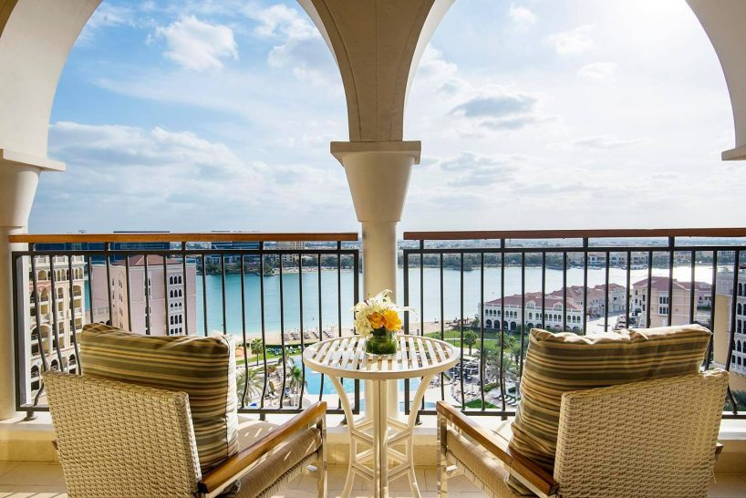 Ritz carlton abu dhabi executive suite balcony
