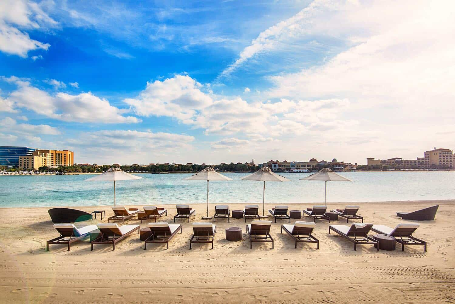Ritz carlton grand canal abu dhabi beach