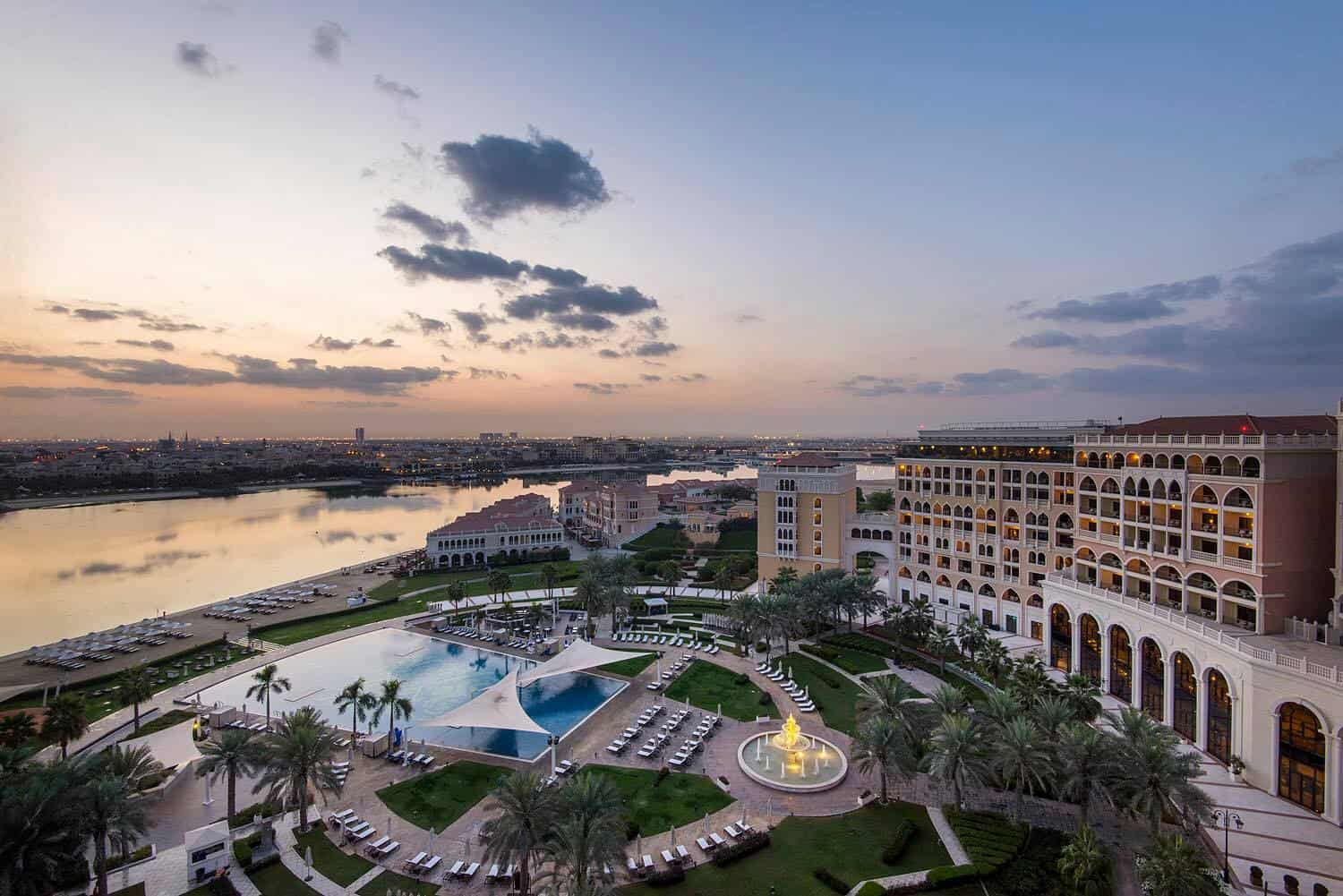 Ritz carlton grand canal abu dhabi location