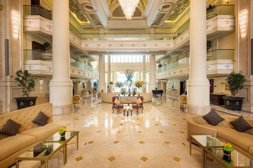 Ritz carlton grand canal abu dhabi lobby