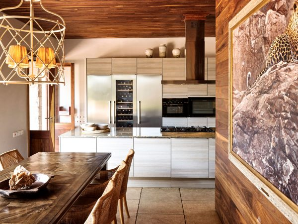 Singita Serengeti House Interactive Kitchen