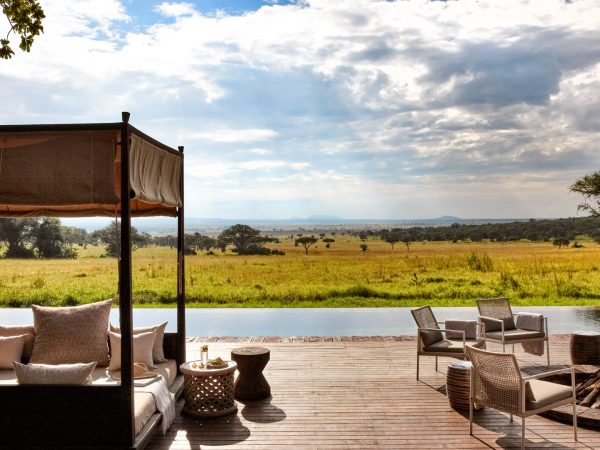 Singita Serengeti House view