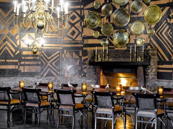 Singita Ebony Lodge Dining