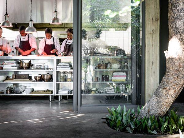 Singita Ebony Lodge Kitchen