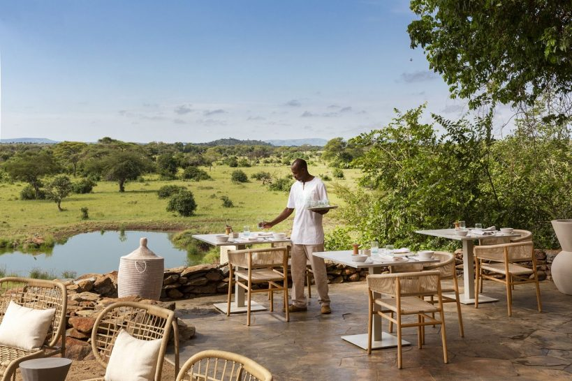 Singita Faru Faru Lodge dining
