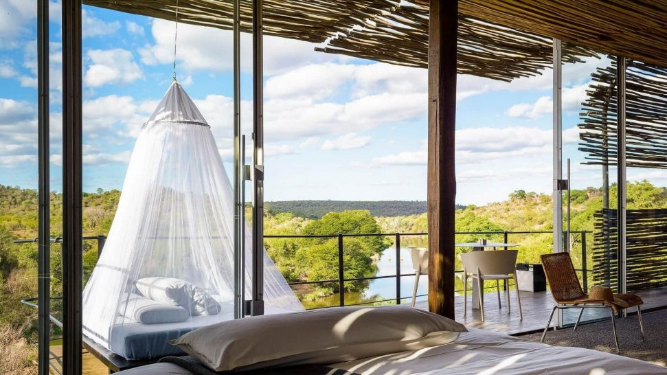 Singita Lebombo Lodge Suite Day Bed