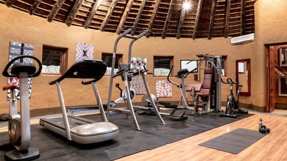 Singita Pamushana Lodge gym