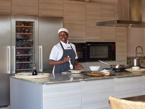 Singita Serengeti House Kitchen