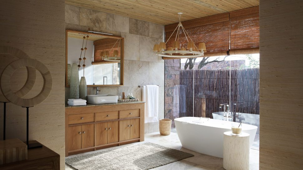 Singita Serengeti House Main Bathroom