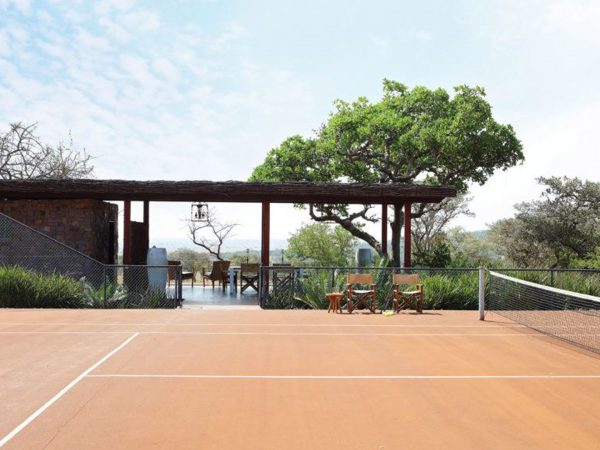 Singita Serengeti House tennis