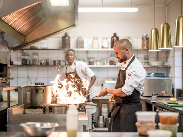Singita Sweni Lodge Kitchen