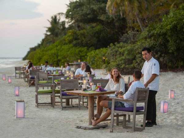 Soneva Fushi By The Beach restaurant2 by Richard Waite