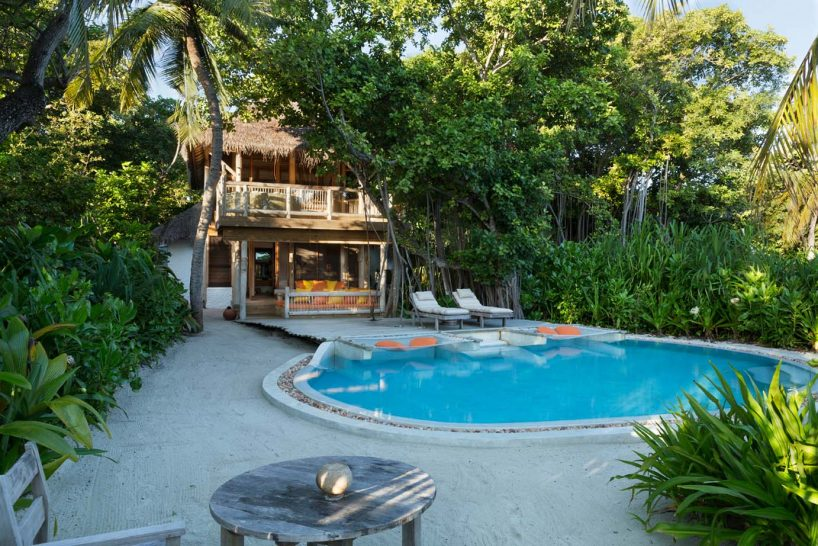 Soneva Fushi Crusoe Villa Suite with Pool Exterior
