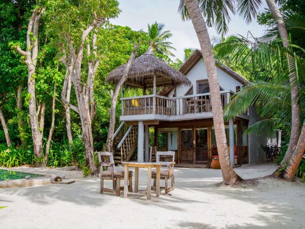 Soneva Fushi Crusoe Villa with Pool Exterior
