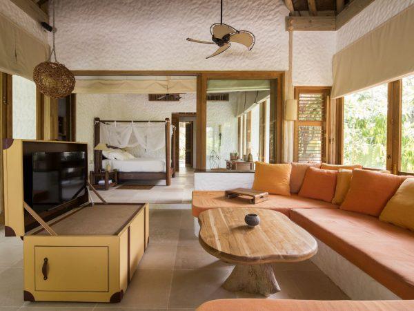Soneva Fushi Family Villa Suite Living Area by Richard Waite