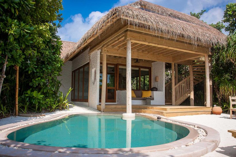 Soneva Fushi Family Villa Suite with Pool Exterior
