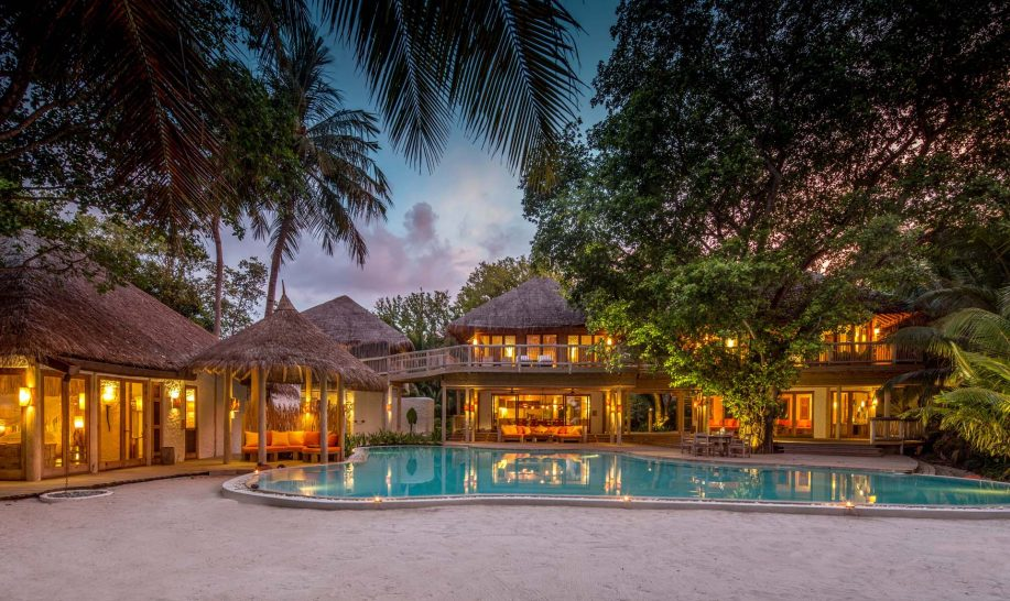 Soneva Fushi Villa 14 with 3 Bedrooms