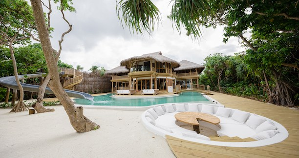 Soneva Fushi Villa 38 with Pool 4 Bedrooms