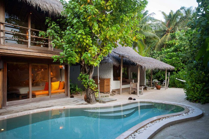 Soneva Fushi Villa Suite Two Bedroom with Pool Exterior