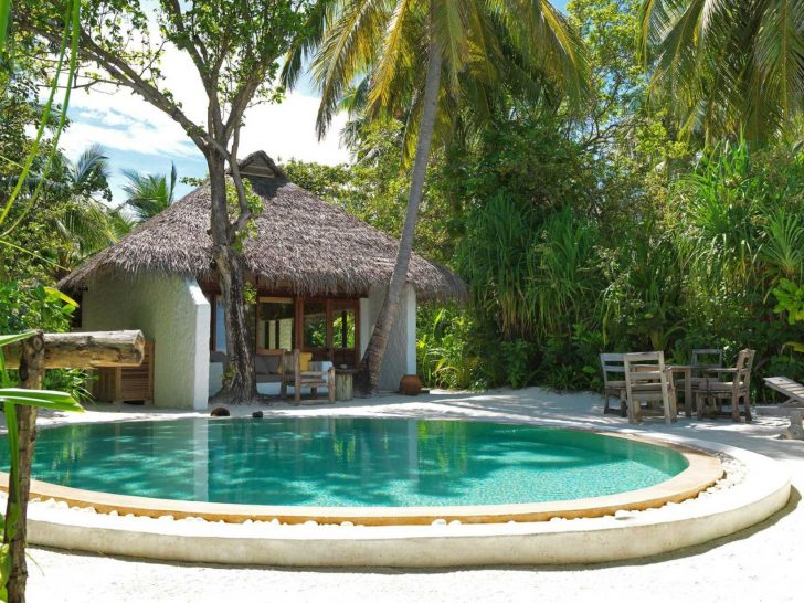 Soneva Fushi Villa Two Bedroom with Pool Exterior